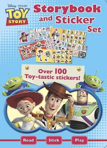 Disney Pixar Toy Story Storybook And Sticker Set [Paperback