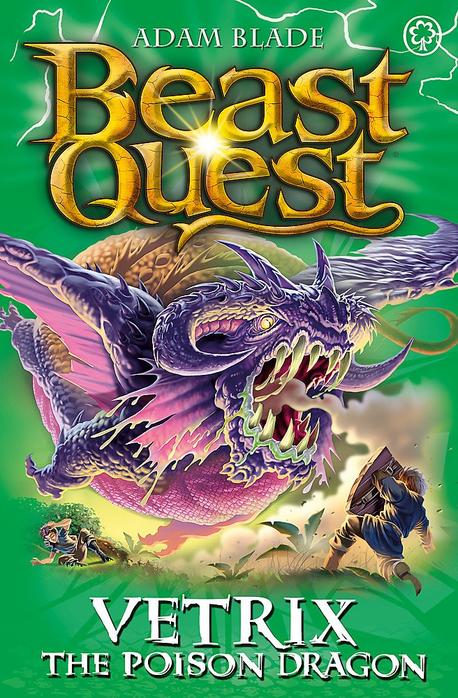 Vetrix The Poison Dragon: Beast Quest Series 19 (Book 3)