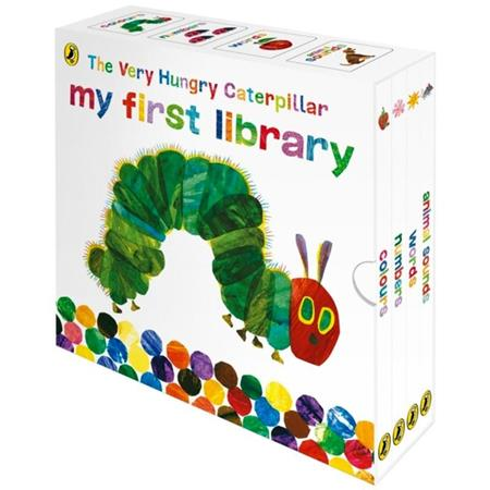 The Very Hungry Caterpillar My First Library: 4 Books Collection