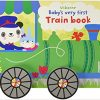 Babys Very First Train Book Board book
